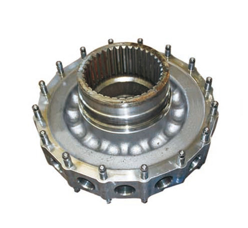 Motor spline cylnder